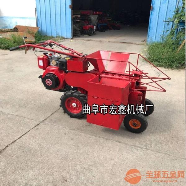 省时省工一行玉米收获机 新型单行玉米收获机厂家