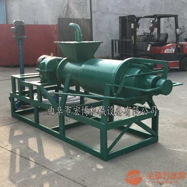 家禽粪便脱水机出厂价格 牛羊粪便转移设备 猪粪牛粪脱水处理机