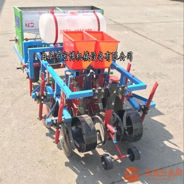 蔬菜种子播种机 播种机花生价格 起垄播种施肥喷药覆膜机