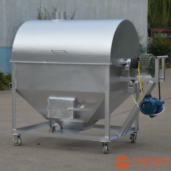 山东炒货机 全自动家用炒货机 100型煤气炒货机