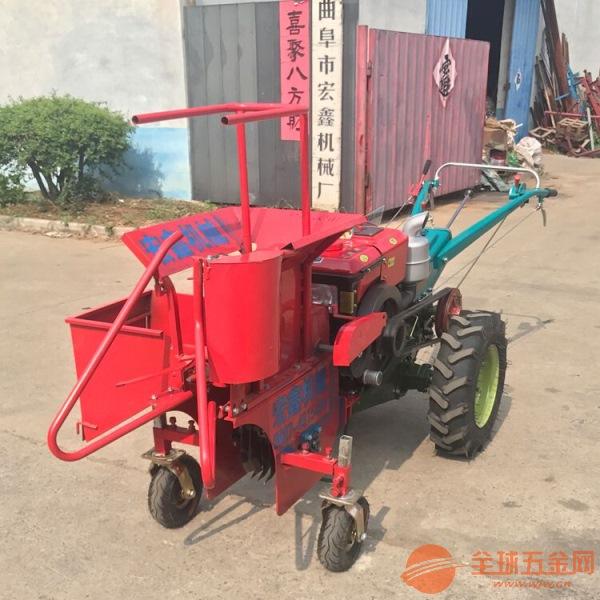农机家用小型玉米收获机 茴香苗辣椒收割机