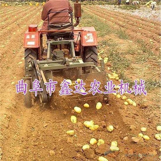 手扶带动土豆收获机 收获地瓜 洋葱 毛芋头 挖掘机 快速