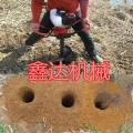 铁路围栏柱孔机 电动手提挖坑机 冬季破冰地钻挖坑机