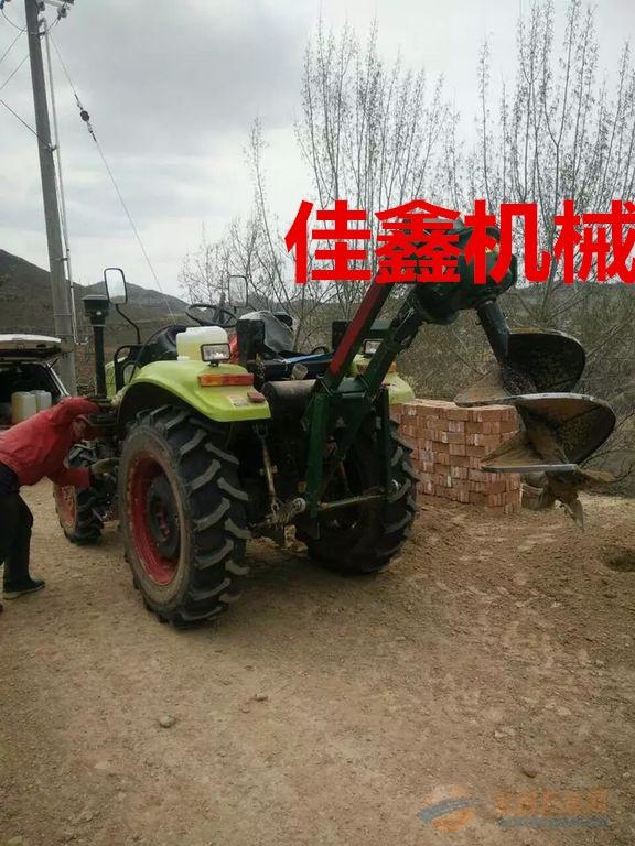 六安 推车式植树挖坑机 优质汽油钻眼机