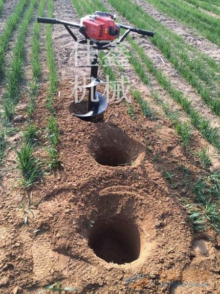 玉溪 电线杆打眼机 双人手扶挖坑机