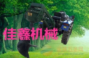 自贡 丘陵山地植树挖坑机 汽油大马力打眼机
