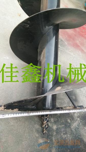 武定县 汽油动力打坑机厂家 拖拉机路灯杆挖坑机