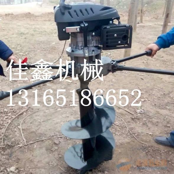 十堰 手提式植树挖坑机 立式液压挖坑机