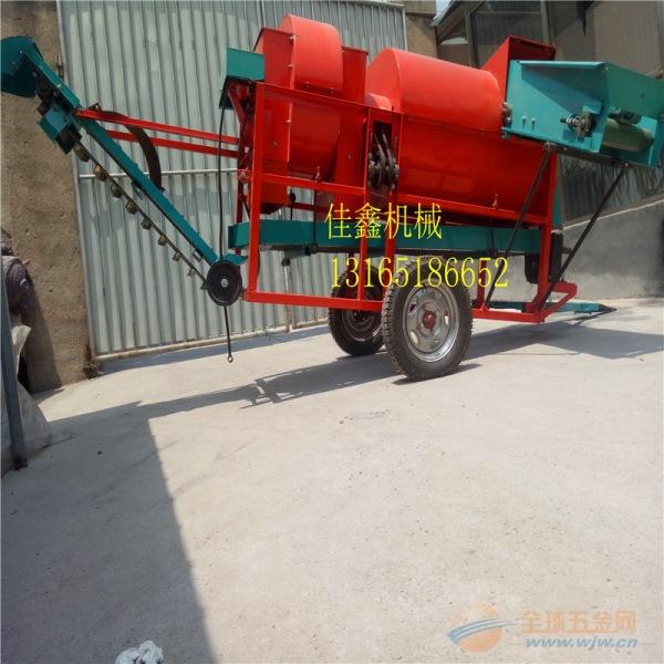定兴县 两相电花生捡拾摘果机 大型花生摘果机