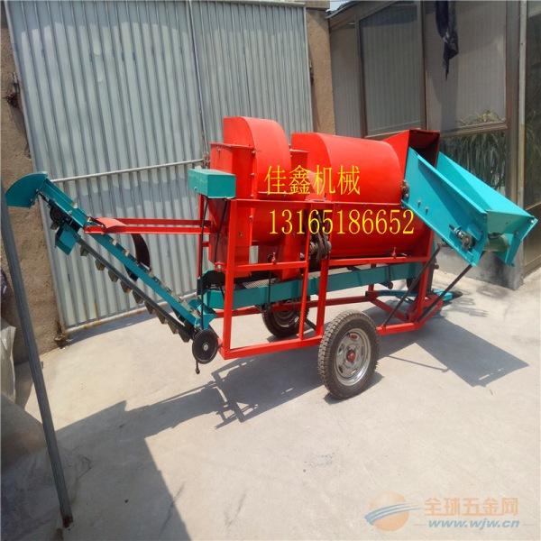 高阳县 拖拉机带动花生摘果机 花生摘果机