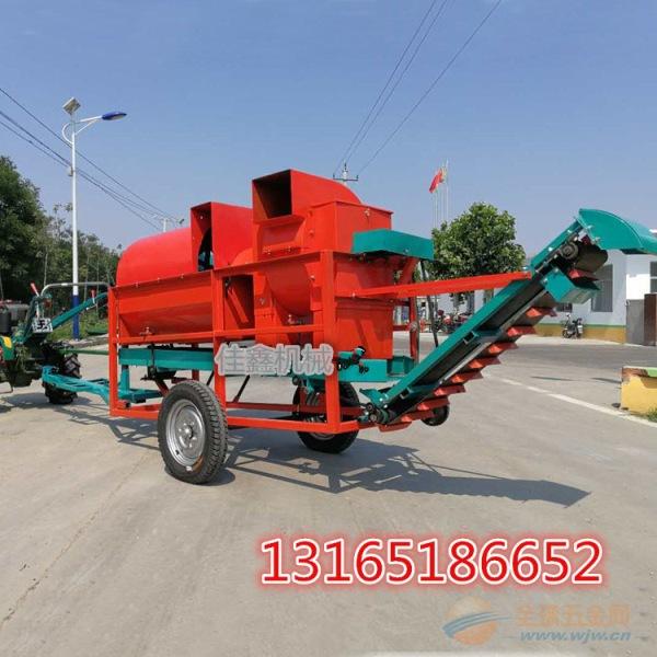 宁晋县 拖拉机带动花生摘果机 小型电动摘果机