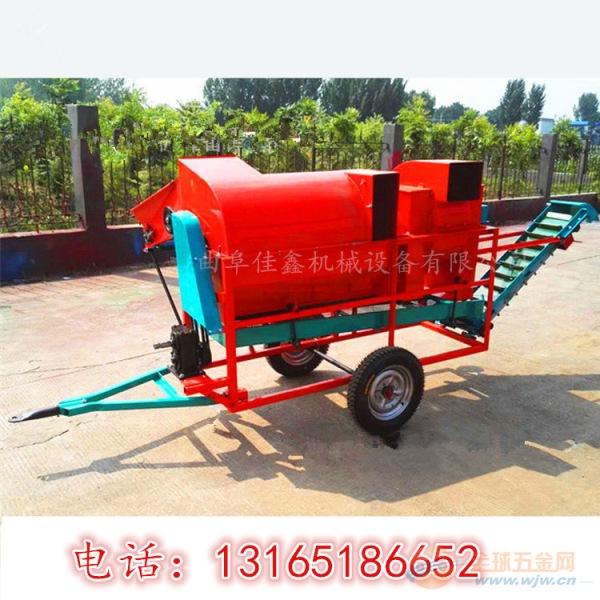平乡县 拖拉机带动花生摘果机 大型花生摘果机