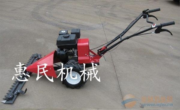 汽油手推式修剪机 斜跨式割草机