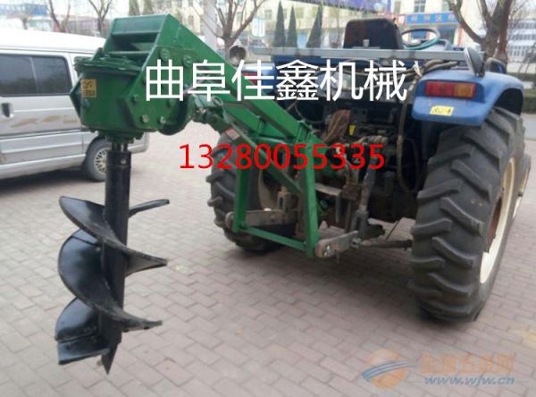 满城县 手推框架挖坑机 新型植树挖坑机