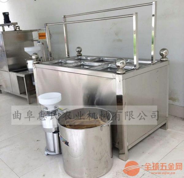 6盒腐竹机电加热油皮机豆制品设备