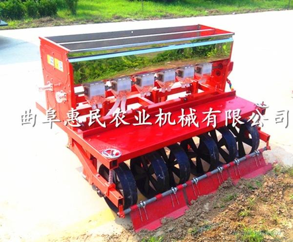 大豆绿豆多行播种机单粒施肥精播机蔬菜基地专用大白菜精播机