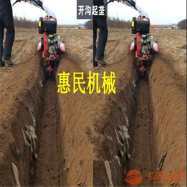 大棚柴油机动力旋耕机 犁地耕地机 大葱封土开沟机