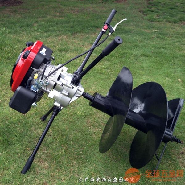 许昌 大棚种植挖坑机 小型挖坑机