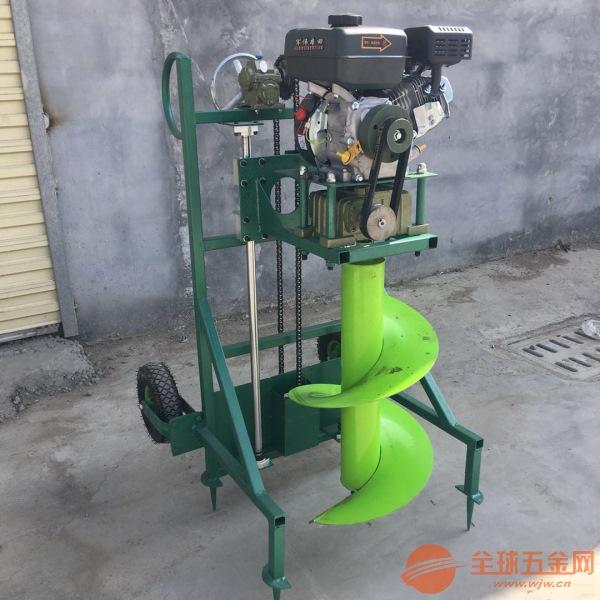 柳州 大功率汽油打坑机 新型转眼机