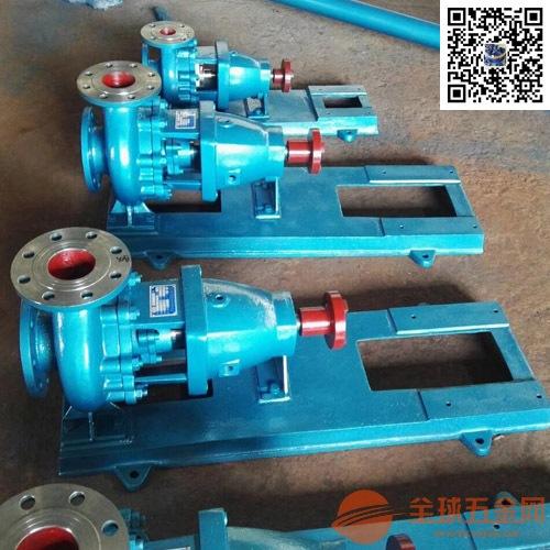 IHF100-65-315衬氟离心泵选型,防腐蚀离心泵