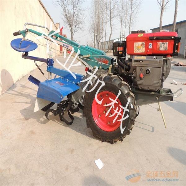 四川厂家直销带后座的柴油犁地机图片
