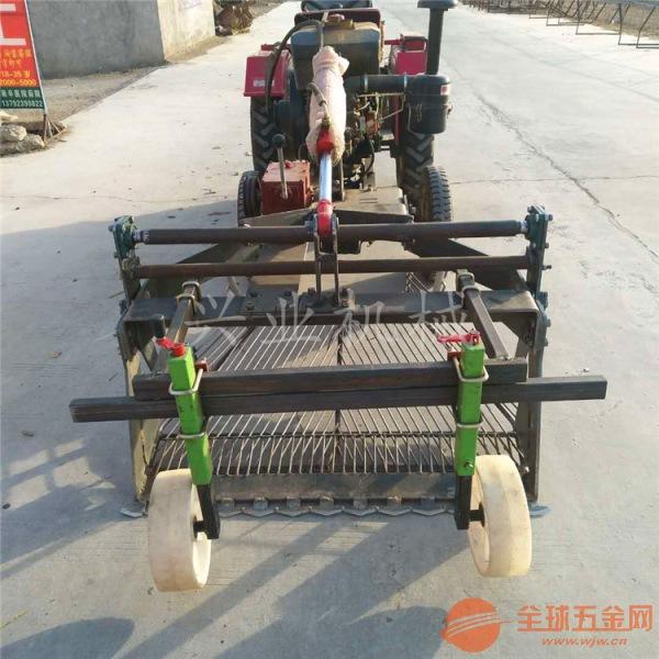 小四轮单杠拖拉机带刨蒜机厂家