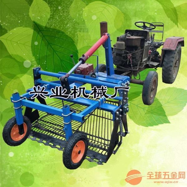 聊城农用四轮前置鲜蒜起蒜机