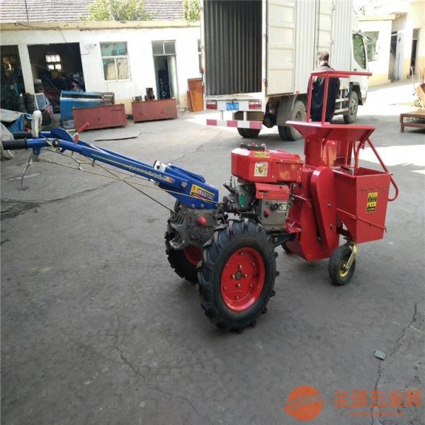 郫县 玉米秸秆粉碎收获机设备 新款家用玉米收获机