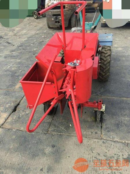 矿区 丘陵山地玉米扒皮收获机 家用小型手推玉米收获机