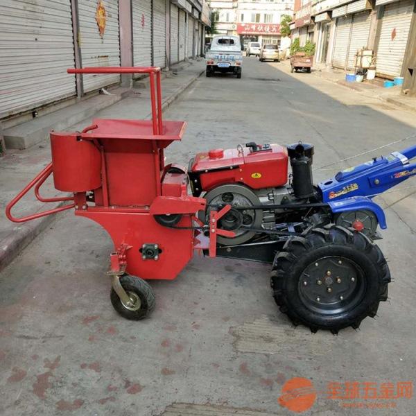 清徐县 割颈收获玉米机 手扶带玉米收割机