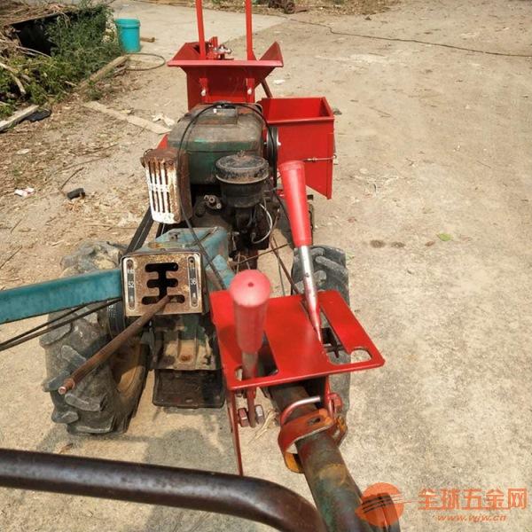 新津县 柴油动力单行玉米收获机 单行起垄苞米收割机