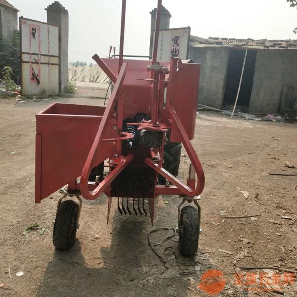 都江堰 单行玉米收割粉碎机 苞米收割机