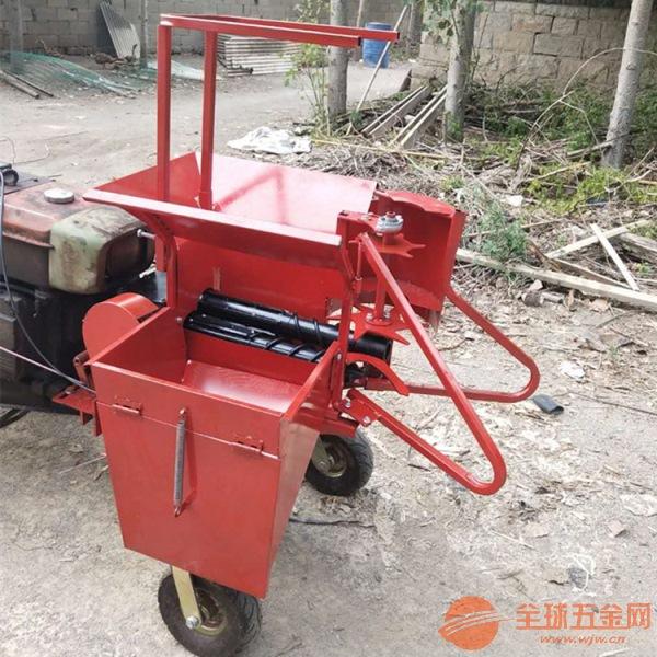 温江县 东北新款玉米还田收获机 烟台小型单垄玉米收获