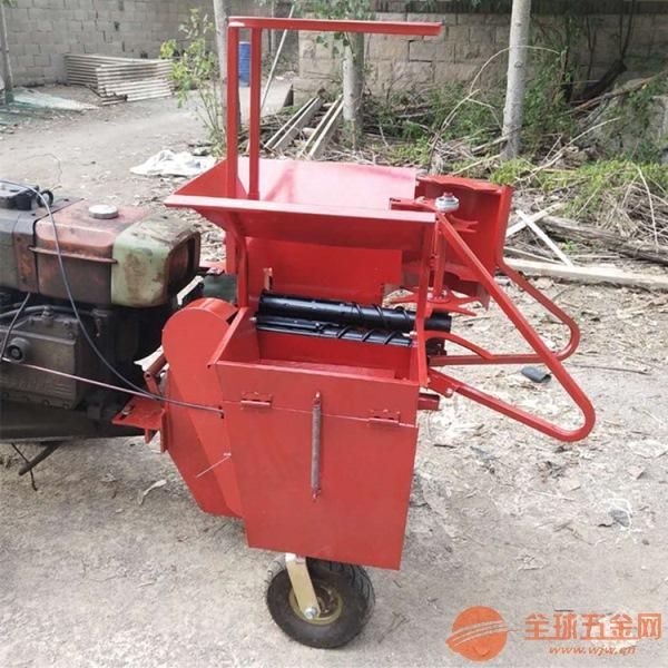 孝义手扶车用的玉米收割机