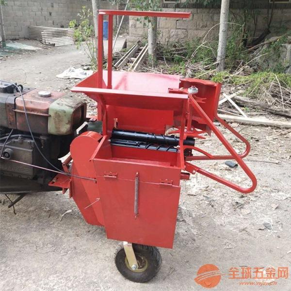 双流县 丘陵山地玉米扒皮收获机 掰玉米棒子机