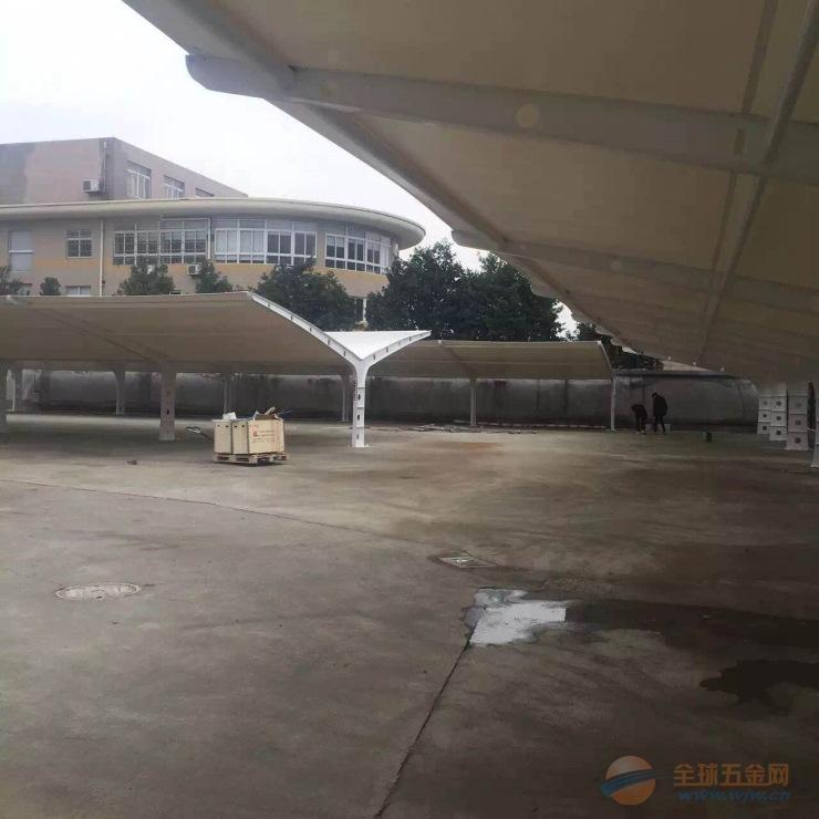 舒城停车棚雨棚价格 膜结构汽车棚安装