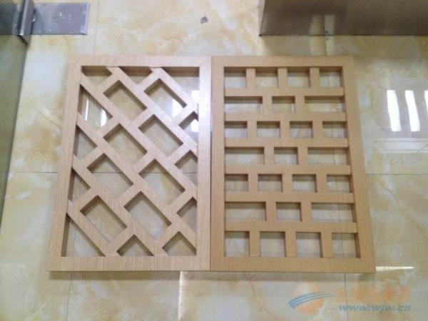亳州木纹铝窗花定制
