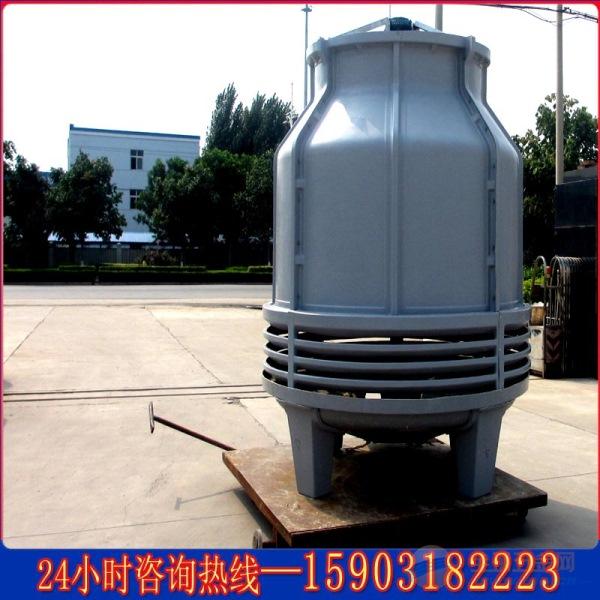 玻璃钢冷却塔结构形式 玻璃钢冷却塔由冷却塔体,风机组件,电机组件