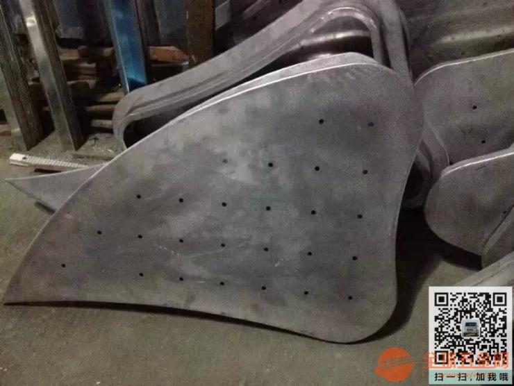 广东方形冲孔铝单板造型朴实,美丽大方