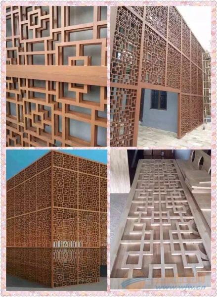 亳州木纹铝窗花厂家定制
