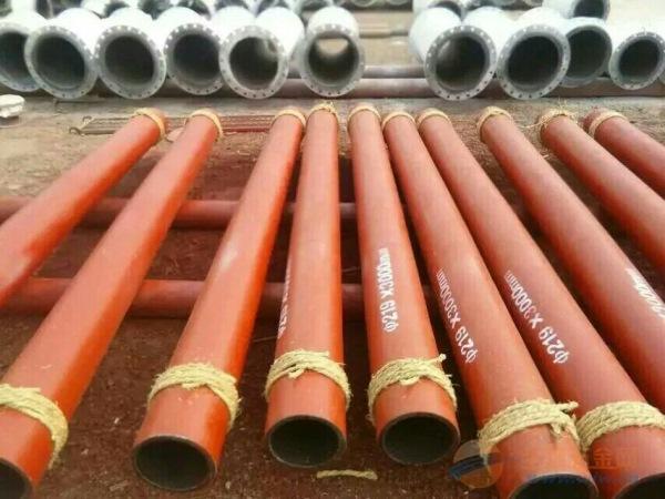 邢台陶瓷环耐磨管道