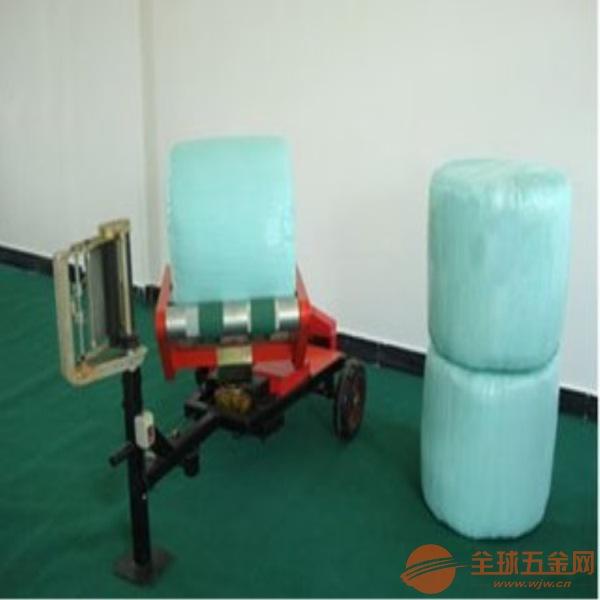 濟寧青貯飼料打捆包膜機秸稈青儲打捆包膜機 包膜機專用膜價格