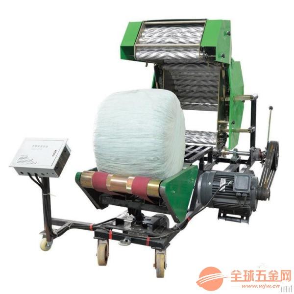臨沂青貯飼料打捆包膜機秸稈青儲打捆包膜機 包膜機專用膜價格