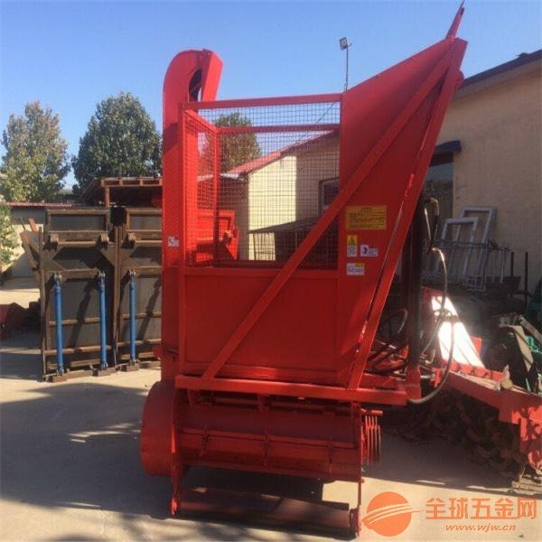 箱式秸秆收获机 玉米收割秸秆回收机生产厂家