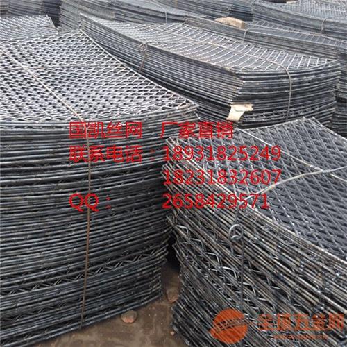 郑州钢笆片厂家-施工工地建筑钢板菱形网销售