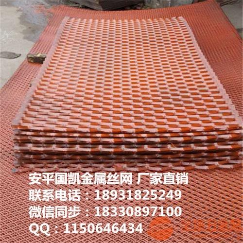 加重钢笆网片__菱型圈边钢丝网片__建筑施工防护网__