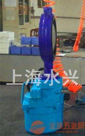 qt电动执行器系列d971x电动对夹蝶阀