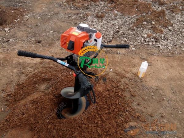 钻眼挖坑机 淄博手提挖坑机