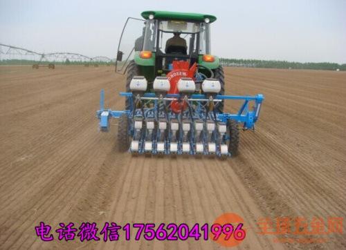 渭南5行精量蔬菜播种机 自走式小粒精播机
