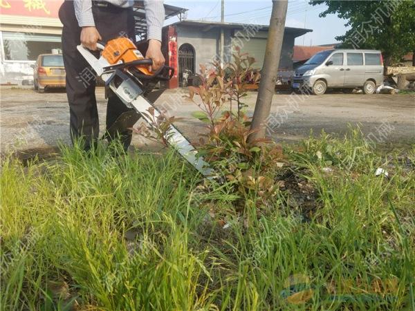 石家庄70厘米起树挖树机 断根土球挖树机